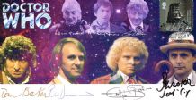 Doctor Who Multi Signed First Day Cover
